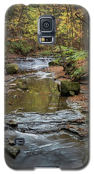 Galaxy S5 Case featuring the photograph Reflecting Autumn by Dale Kincaid