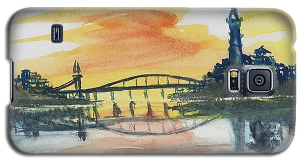 Reflecting Bridge Galaxy S5 Case