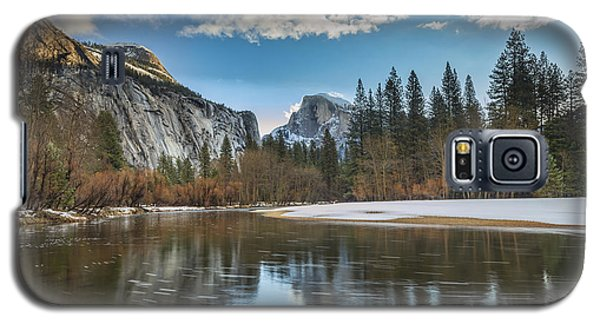 Reflecting On Half Dome Galaxy S5 Case