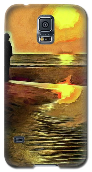 Reflecting On The Day Galaxy S5 Case by Trish Tritz