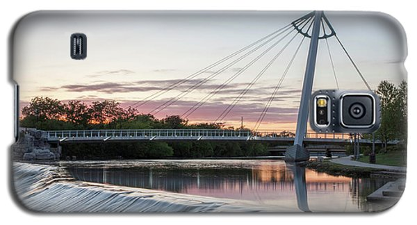 Reflecting On Wichita Galaxy S5 Case by Kyle Findley