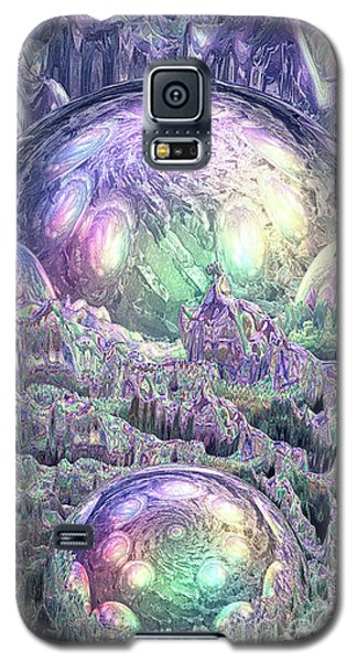 Reflecting Spheres In Space Galaxy S5 Case