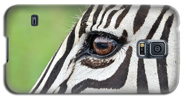 Reflection In A Zebra Eye Galaxy S5 Case