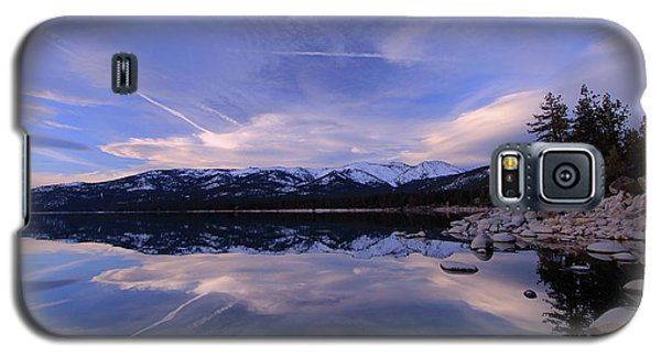 Reflection In Winter Galaxy S5 Case