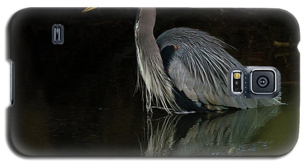 Reflection Of A Heron Galaxy S5 Case