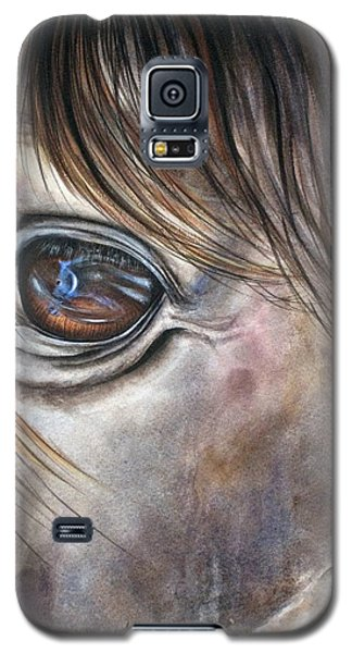 Reflection Of A Painted Pony Galaxy S5 Case