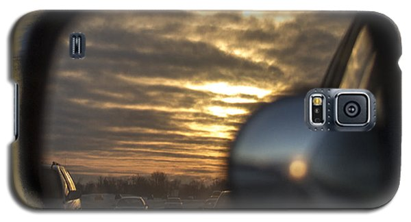 Reflection Of A Sunset Galaxy S5 Case