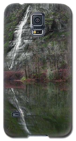 Reflection Of A Waterfall Galaxy S5 Case