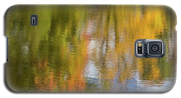 Reflection Of Fall #1, Abstract Galaxy S5 Case