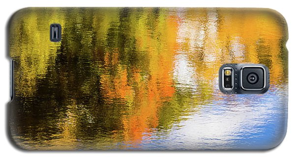 Reflection Of Fall #2, Abstract Galaxy S5 Case