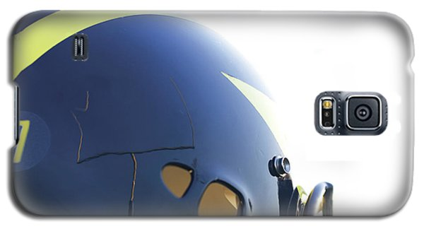 Reflection Of Goal Post In Wolverine Helmet Galaxy S5 Case
