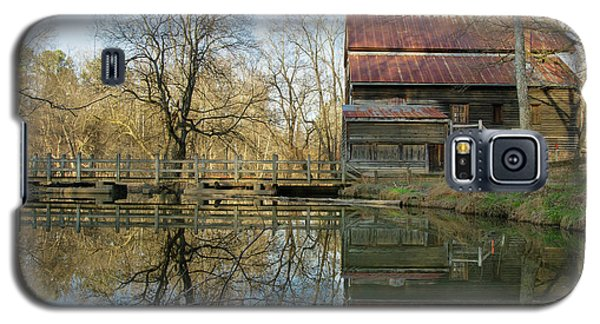 Reflection On A Grist Mill Galaxy S5 Case
