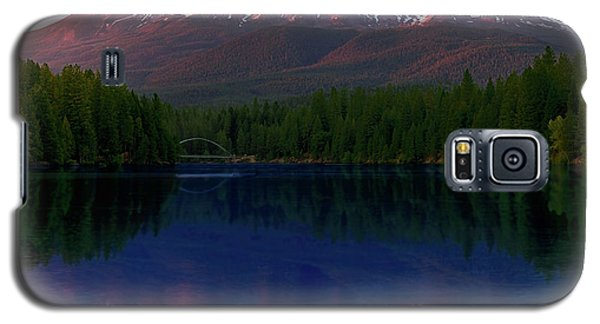Reflection On California's Lake Siskiyou Galaxy S5 Case