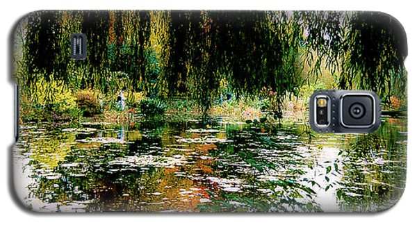 Reflection On Oscar - Claude Monet's Garden Pond Galaxy S5 Case