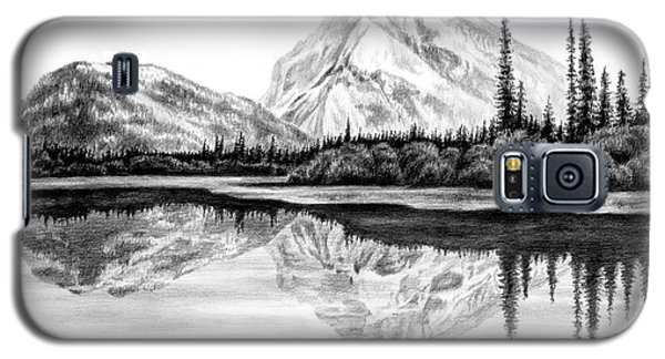 Reflections - Mountain Landscape Print Galaxy S5 Case