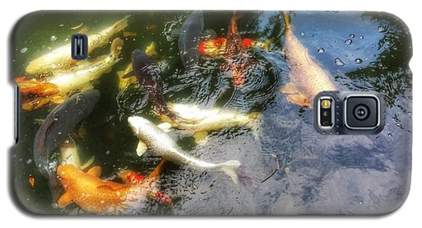 Reflections And Fish 6 Galaxy S5 Case