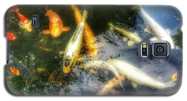 Reflections And Fish 7 Galaxy S5 Case by Isabella F Abbie Shores FRSA