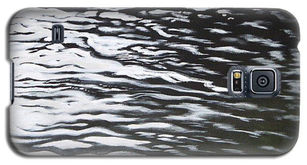 Galaxy S5 Case featuring the painting Reflections by Antonio Romero