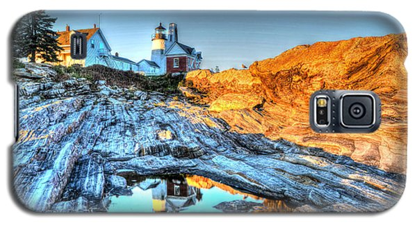 Reflections At Pemaquid Point Galaxy S5 Case
