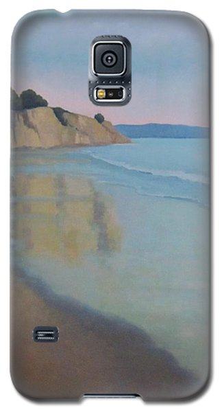 Reflections At Summerland Beach Series 3 Galaxy S5 Case by Jennifer Boswell