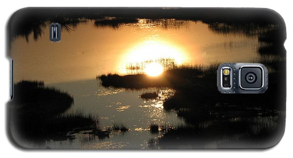 Reflections At Sunset Galaxy S5 Case by Barbara Yearty
