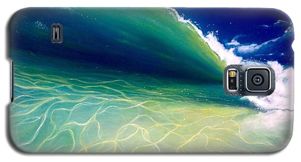 Galaxy S5 Case featuring the painting Reflections by Dawn Harrell