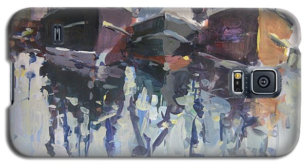 Galaxy S5 Case featuring the painting Reflections II by Robert Joyner