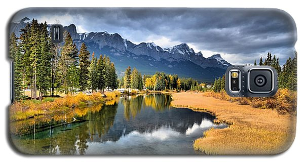 Reflections In Canmore Galaxy S5 Case