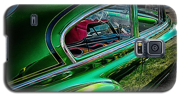 Reflections In Green Galaxy S5 Case by Jay Stockhaus