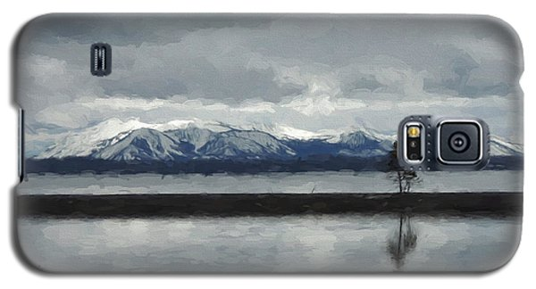 Reflections In Lake Yellowstone Galaxy S5 Case by Jayne Wilson
