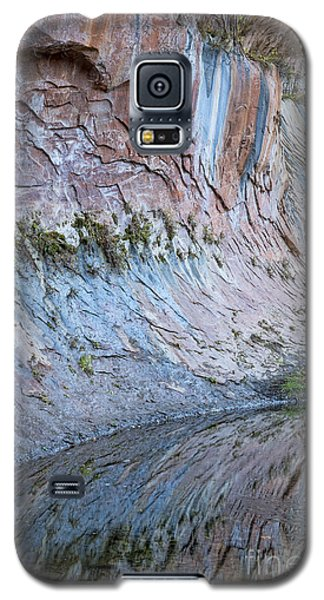 Galaxy S5 Case featuring the photograph Reflections In Oak Creek Canyon by Sandra Bronstein