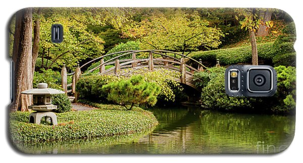 Galaxy S5 Case featuring the photograph Reflections In The Japanese Garden by Iris Greenwell