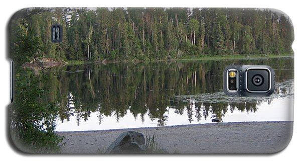 Galaxy S5 Case featuring the photograph Reflections Lake 1 by Barbara Yearty