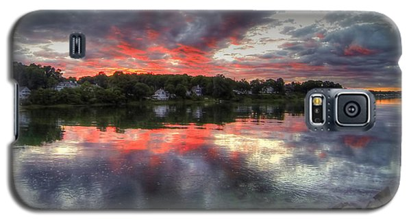 Reflections Of A Summer Sky Galaxy S5 Case by Adrian LaRoque