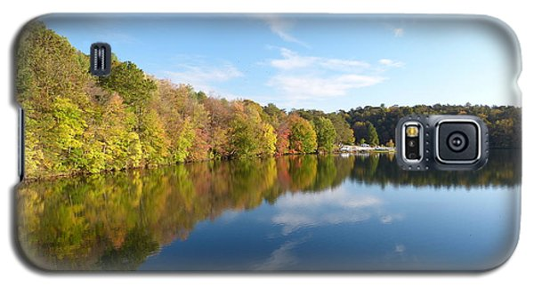 Galaxy S5 Case featuring the photograph Reflections Of Autumn by Donald C Morgan