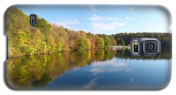Reflections Of Autumn Galaxy S5 Case by Donald C Morgan