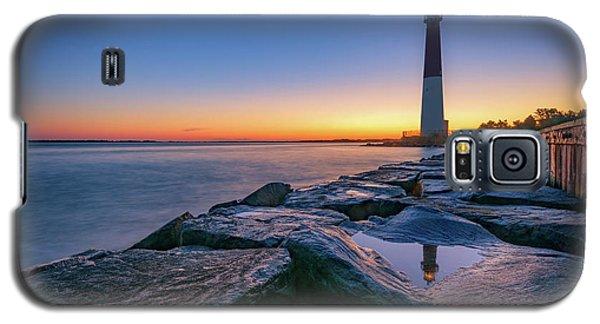 Reflections Of Barnegat Light Galaxy S5 Case