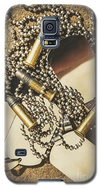 Galaxy S5 Case featuring the photograph Reflections Of Battle by Jorgo Photography - Wall Art Gallery