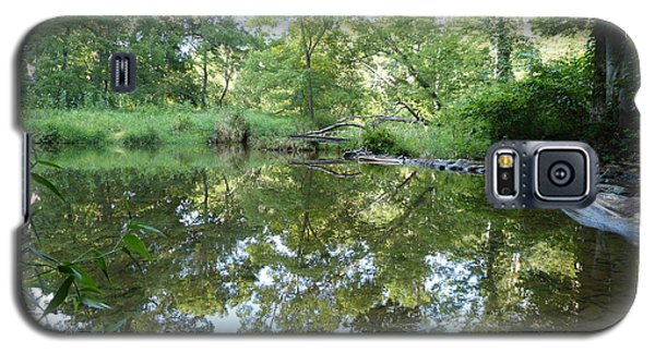Galaxy S5 Case featuring the photograph Reflections Of Beetree Run by Donald C Morgan