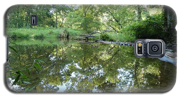 Reflections Of Beetree Run Galaxy S5 Case by Donald C Morgan