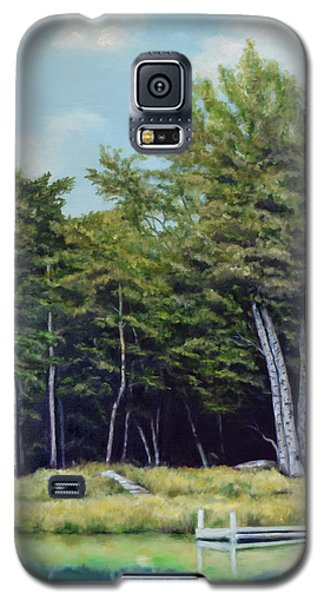 Reflections Of Birches Galaxy S5 Case by Sandra Nardone
