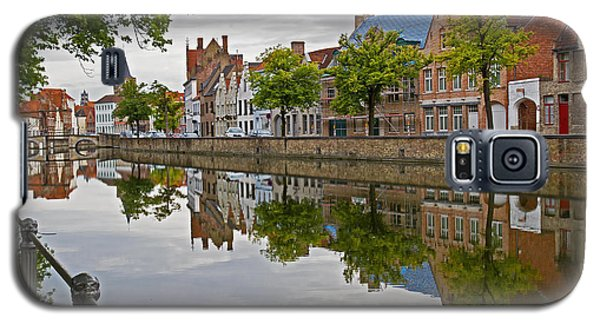 Reflections Of Brugge Galaxy S5 Case