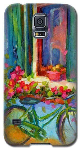 Galaxy S5 Case featuring the painting Reflections Of Burano by Chris Brandley