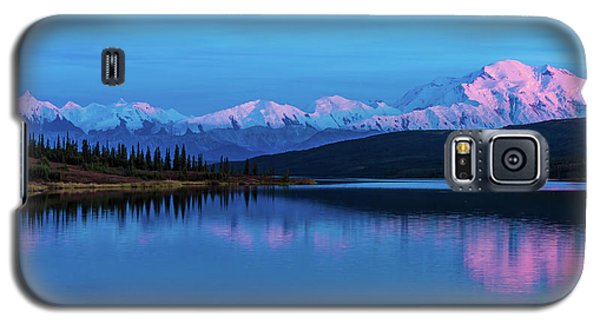 Sunset Reflections Of Denali In Wonder Lake Galaxy S5 Case