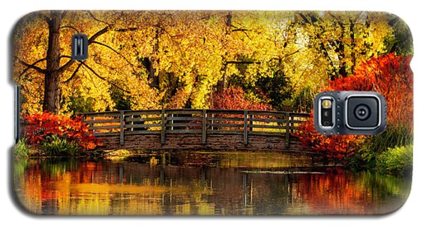 Reflections Of Fall Galaxy S5 Case by Kristal Kraft
