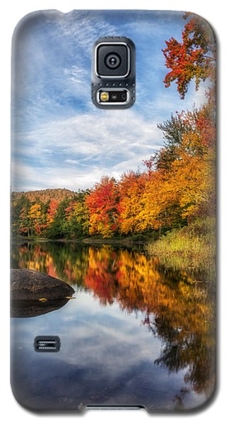 Reflections Of Fall Galaxy S5 Case by Mark Papke