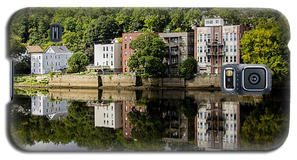 Reflections Of Haverhill On The Merrimack River Galaxy S5 Case by Betty Denise