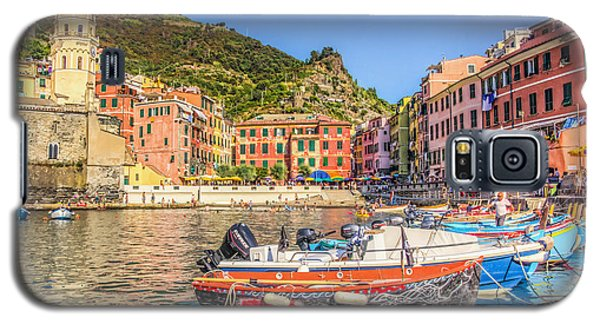 Galaxy S5 Case featuring the photograph Reflections Of Italy by Brent Durken