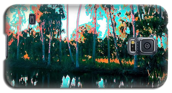 Reflections Of Palms Gulf Coast Florida Galaxy S5 Case