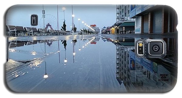Reflections Of The Boardwalk Galaxy S5 Case